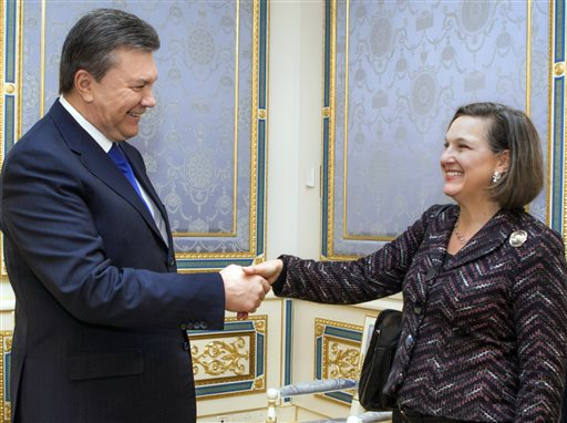 U.S. Sees Russian Hand in Envoy Victoria Nuland's Bugged Call