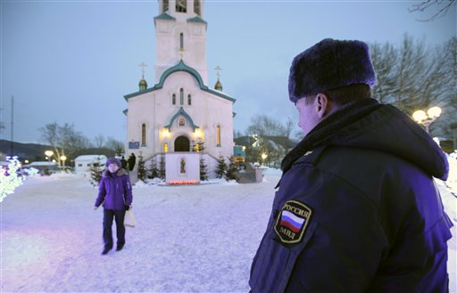 Gunman Kills Nun, Parishioner in Russian Cathedral