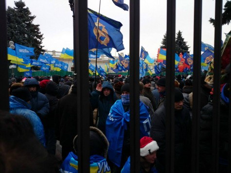 Are the Pro-Govt Mobs in Ukraine the Same 'Mobs' I Met in December?