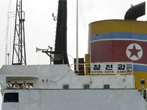 North Korean Ship Seized with Arms Returning to Cuba
