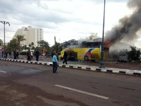 World View: Egypt's Terrorism Escalates with Attack on Tourist Bus
