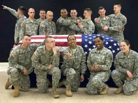 Wisconsin guardsman photo mocking funeral raises ire
