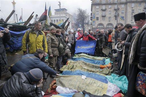 Medic: At Least 70 Protesters Killed in Kiev