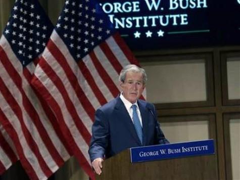 Bush: Helping Veterans Lifts His Spirits