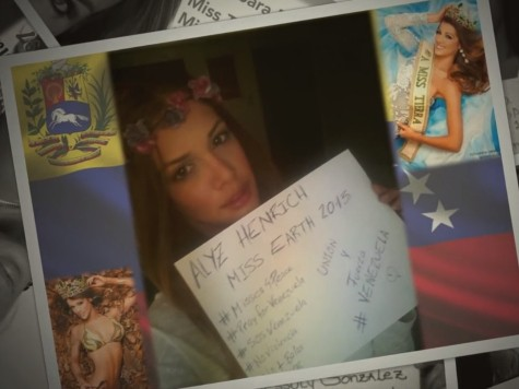 Venezuelan Beauty Queens Organize Against Government Violence