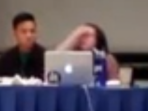 WATCH: Anti-Israel Student's EPIC Meltdown After Student Council Votes Down Divestment
