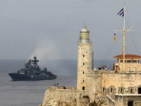 Russian Spy Ship Docked in Havana