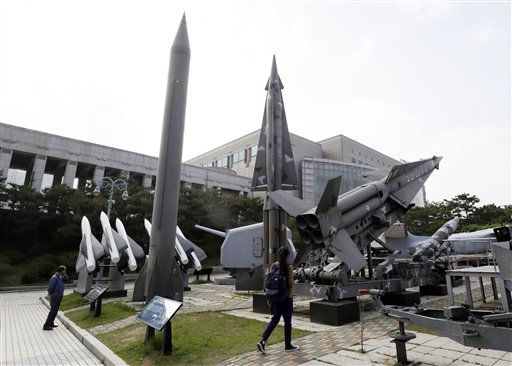 Seoul: NKorea Fired Short-Range Missiles into Sea