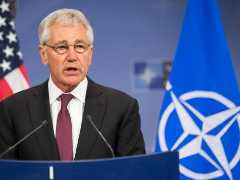 Chuck Hagel Urges Russia to 'Avoid Provocative Actions' In Ukraine