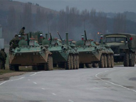 Russia Confirms Moving Troops into Ukraine's Crimea Peninsula