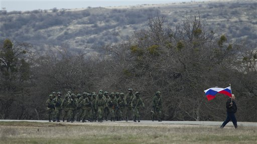Pro-Russian Troops take Crimea Terminal in Ukraine