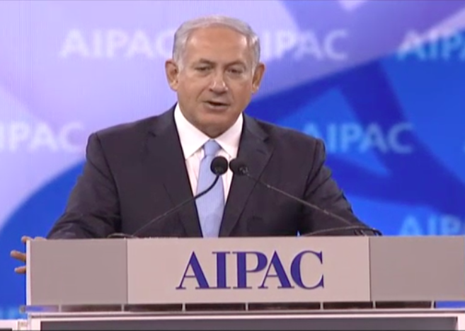Netanyahu to AIPAC: 'We Will Never Be Brought to the Brink of Extinction Again'