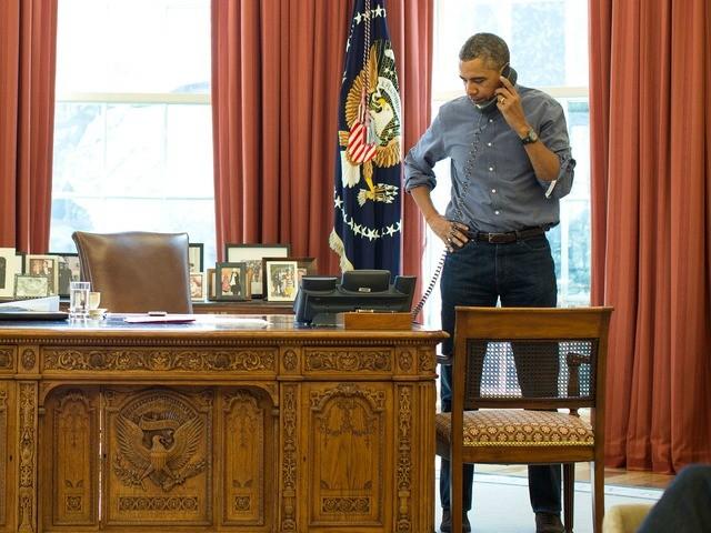 Obama Tells Putin to Hold Direct Talks with Ukraine