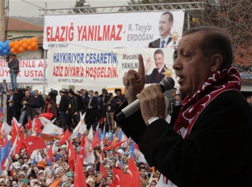Turkish PM Threatens to Ban Facebook, YouTube