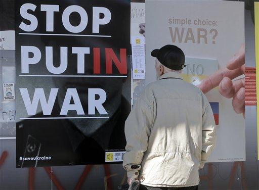 Ukraine Accuses Russia of Military Buildup