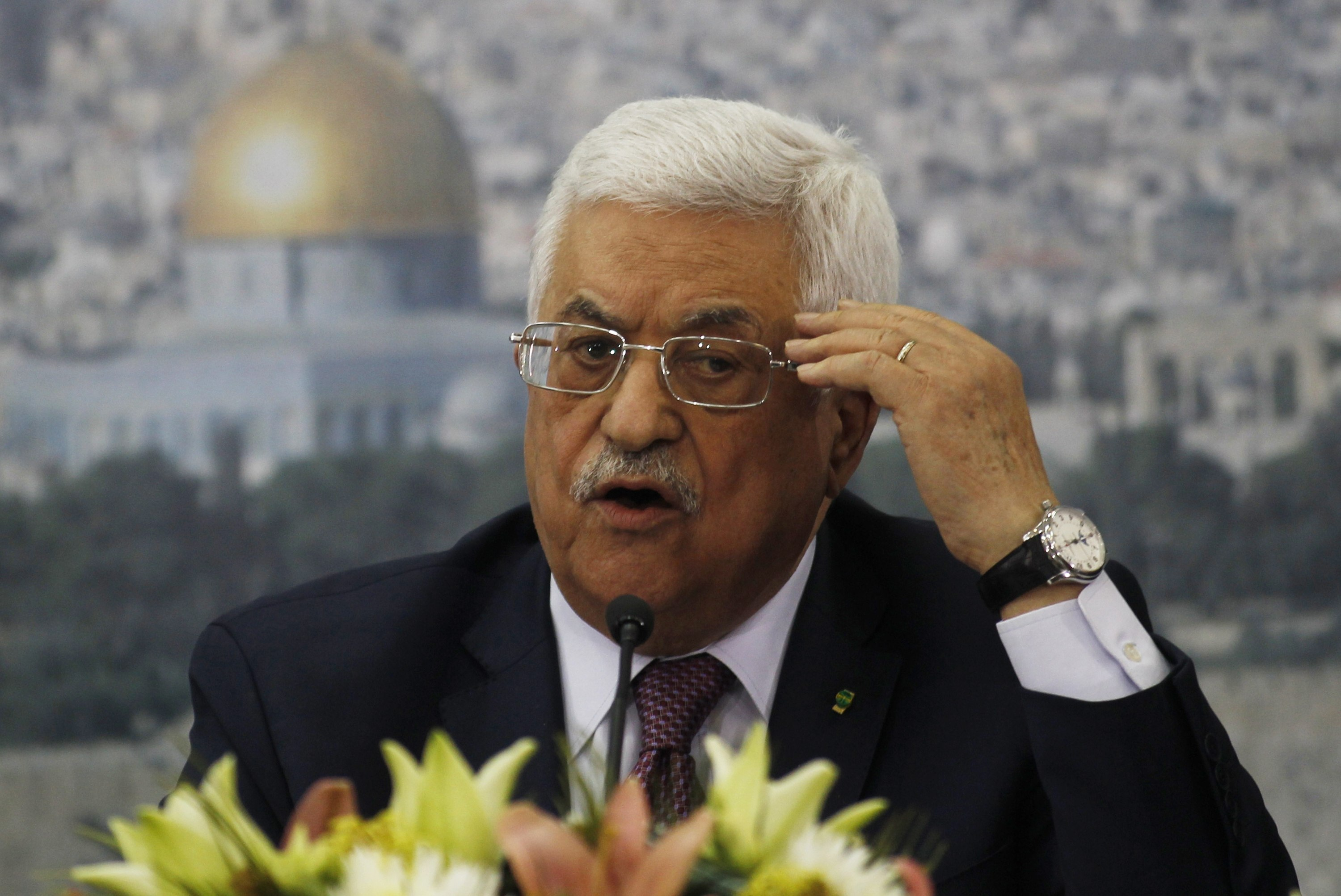 Palestinian leader lashes out at rival, political tensions flare