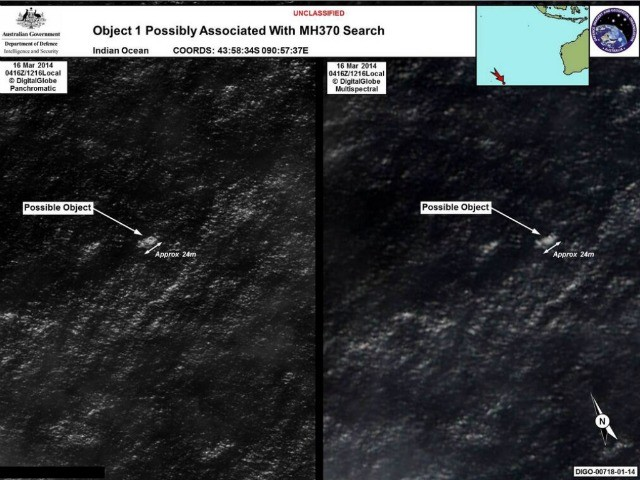 Australia PM: Two Objects Spotted Possibly Related to MH370
