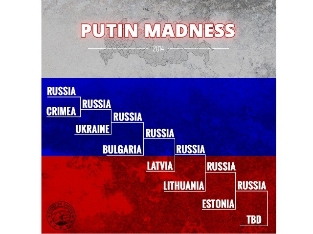 The Real March Madness Is in Ukraine