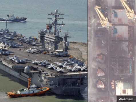 Iran: U.S. Carrier Mock-Up Is for a Movie
