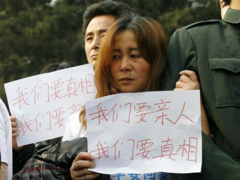 Protests Engulf Malaysian Embassy in Beijing as China Demands Missing Plane Data