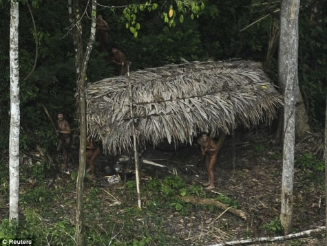 Photos Reveal Isolated, Primitive Amazon Tribe