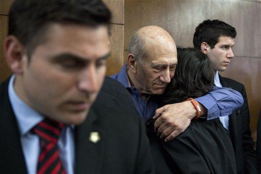 Israeli Court Convicts Ex-PM Olmert of Bribery