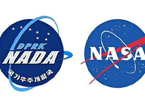 North Korea Plagiarizes NASA Logo for Anniversary of DPRK's 'Space Program'