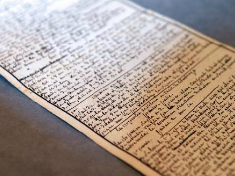 Marquis de Sade Manuscript Returned to France