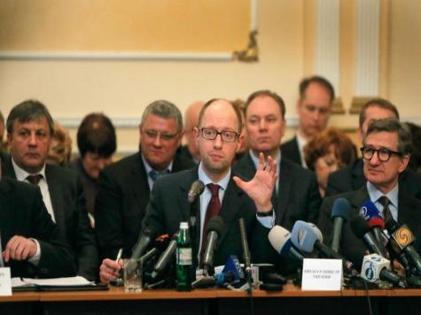 Ukrainian Prime Minister Yatsenyuk Meets with Leaders in East Ukraine