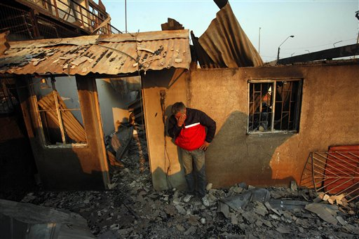 Chile: 16 Dead, Toll Rising in Valparaiso Fire