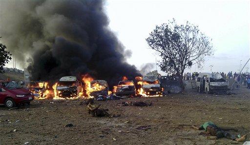 Blast at Bus Station in Nigerian Capital Kills 72