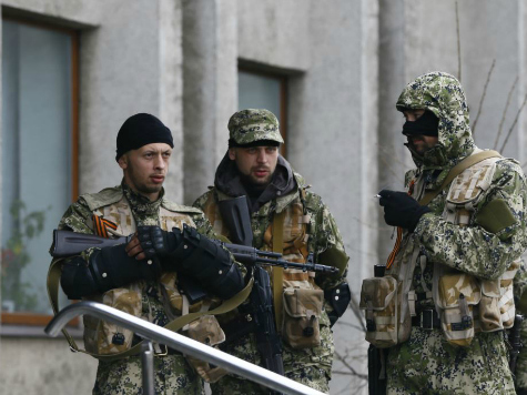Ukraine: Russian Weapons Give Away Presence of Troops in Eastern Ukraine