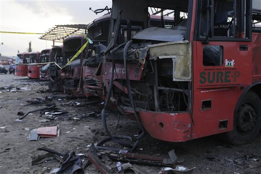 Islamic Militants Boko Haram Claim Deadly Nigeria Bus Station Bombing