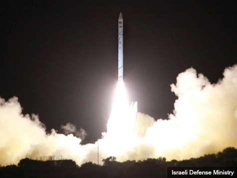 New Israeli Satellite Eyes Iran Nuclear Program, Terrorist Arms Smuggling Networks