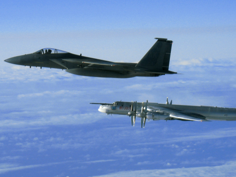 Dutch Fighters Scrambled to Intercept Russian Bombers Approaching Dutch Airpsace