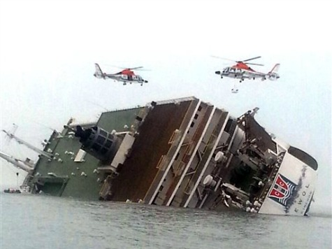Video Allegedly Shows Captain of South Korean Ferry Abandoning Ship