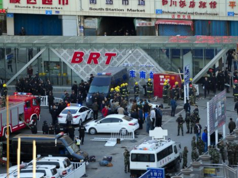 World View: 3 Dead, 79 Injured in Terrorist Attack on Chinese Railway Station