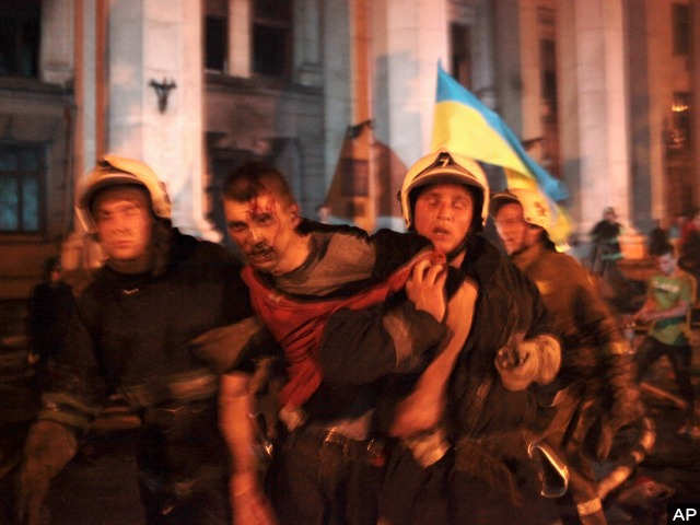 At Least 30 Dead in Clashes Between Pro-Ukrainians and Pro-Russians in Odessa, Ukraine