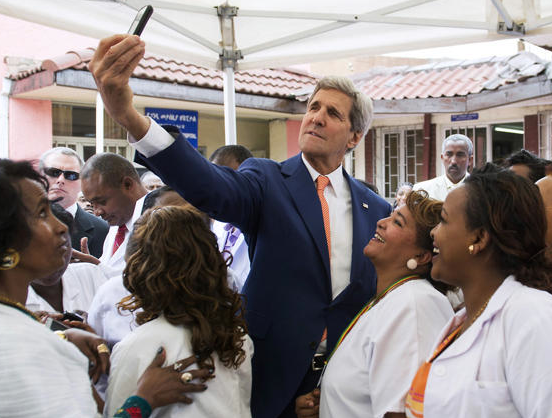 Kerry to African Leaders: Do Some of You Ride Donkeys?