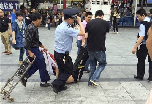 6 Injured in Hacking Attack at Chinese Railway Station
