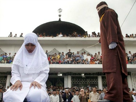Woman Gang Raped, Will Be Caned as Punishment for Adultery Under Sharia Law