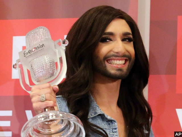 Eurovision-Winning Drag Queen Conchita Wurst Returns in Triumph