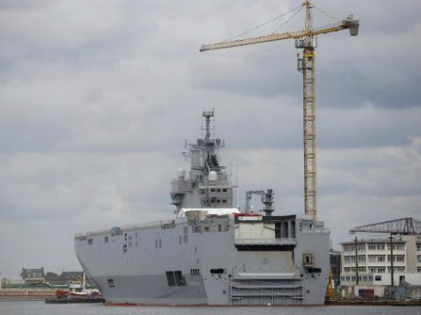 Rep. Jim Bridenstine: Imminent Sale of French Warships to Russia Lets 'Evil Triumph'