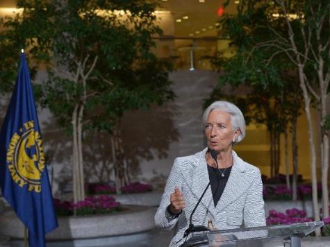 IMF's Lagarde: Ukraine Crisis Is 'Contagion' of Unpredictability