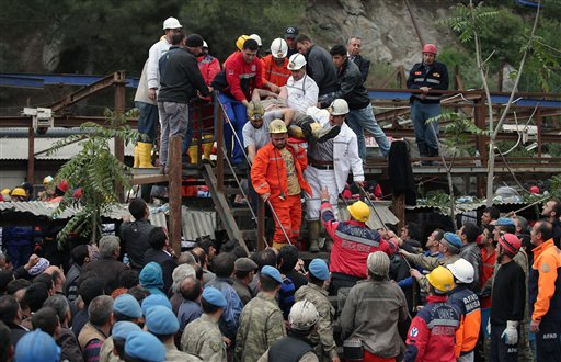 205 Dead, Many Trapped in Turkish Coal Mine