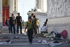 Attack on Thai Protesters Kills 2, Wounds 22