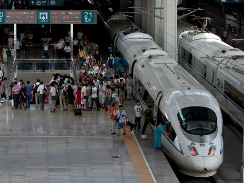 China Considers Building High Speed Train to U.S.