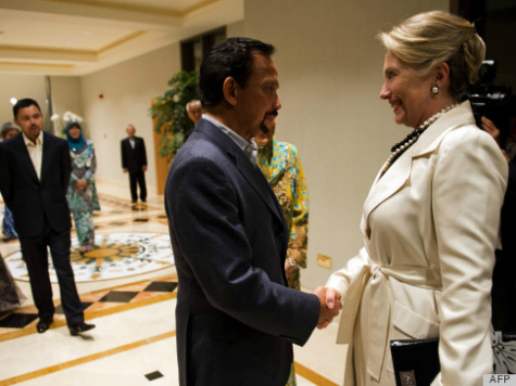 Clintons Remain Silent on Financial Ties to Sultan of Brunei
