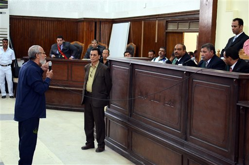 Egypt Courts Convict 170 in Mass Trials