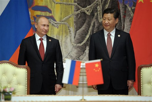 China, Russia Sign 30-Year, $400 Billion Gas Deal